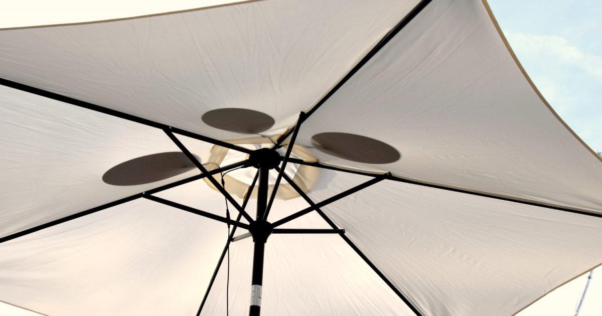 parasol die energie opwekt
