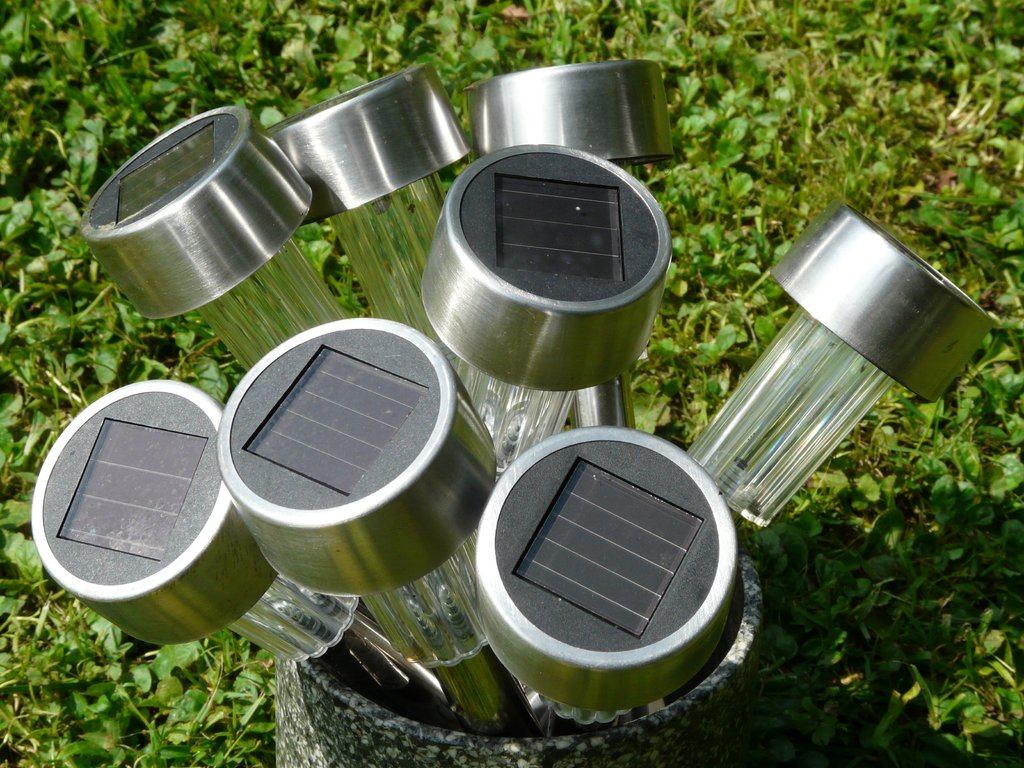 tuinlamp zonne-energie